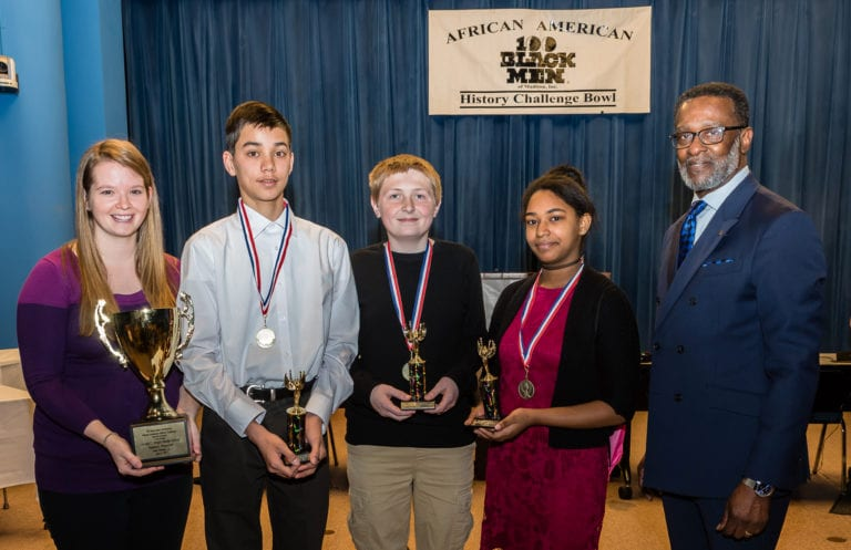 Spring Harbor Beats Out 11 Middle Schools to Win African American History Challenge Bowl Championship