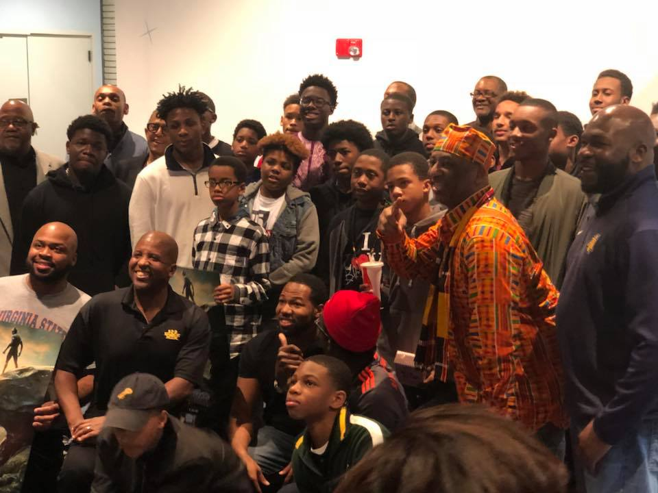 Triangle organization exceeds fundraising goal to help kids see 'Black Panther'