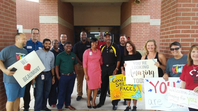 100 Black Men of Greater Beaumont First Day of School Event