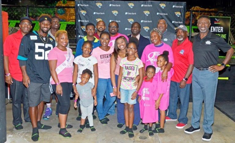 """100 Black Men of Jax, Jaguars make """"Crucial Catch"""" for Cancer Survivors"""