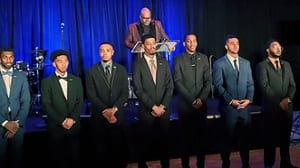SIUE's Collegiate 100 Chapter Receives Award from 100 Black Men of St. Louis
