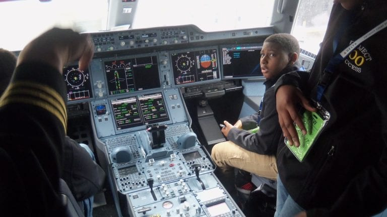 Detroit Chapter Mentees Visit The Detroit Metropolitan Wayne County Airport