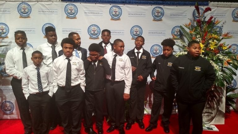 The Detroit Chapter Attends NAACP Dinner