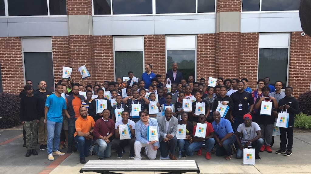 Microsoft and 100 Black Men of Triangle East, Inc. Partner to Offer Free Mancode Coding Workshop