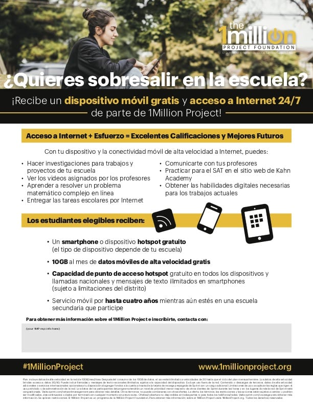 Program Flyer 2 Spanish