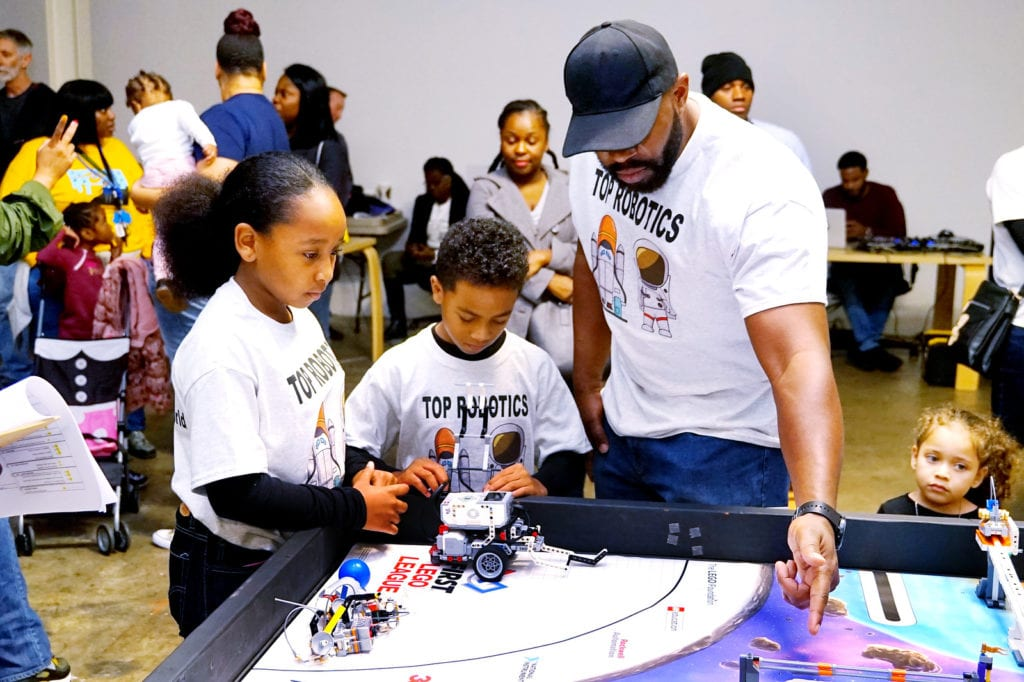 Two Youth And Robotics Coach